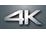 Capacité d'enregistrement vidéo 4K
