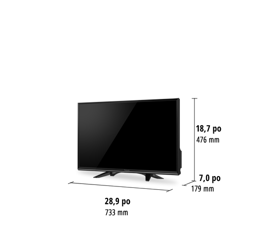 Téléviseur HD TC-32ES600