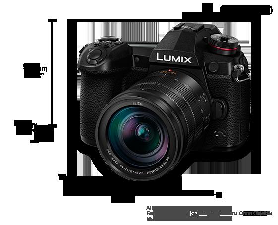 LUMIX DSLM-Kamera (Digital Single Lens Mirrorless) DC-G9L