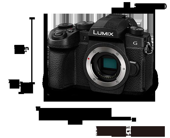 Appareil photo numérique mono-objectif sans miroir LUMIX DC-G91