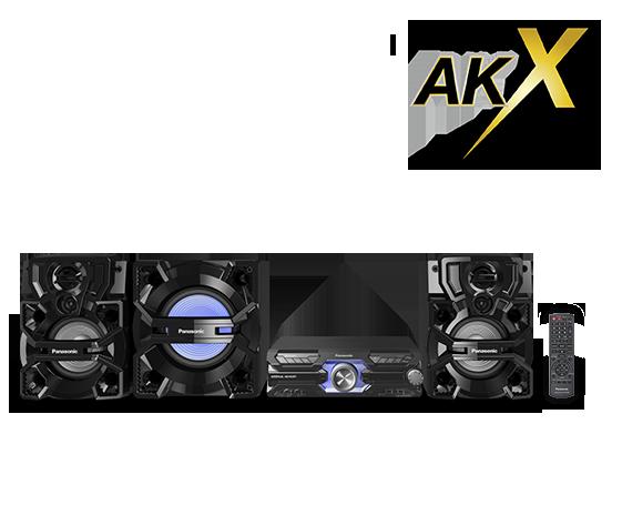 Mini Sistema SC-AKX910