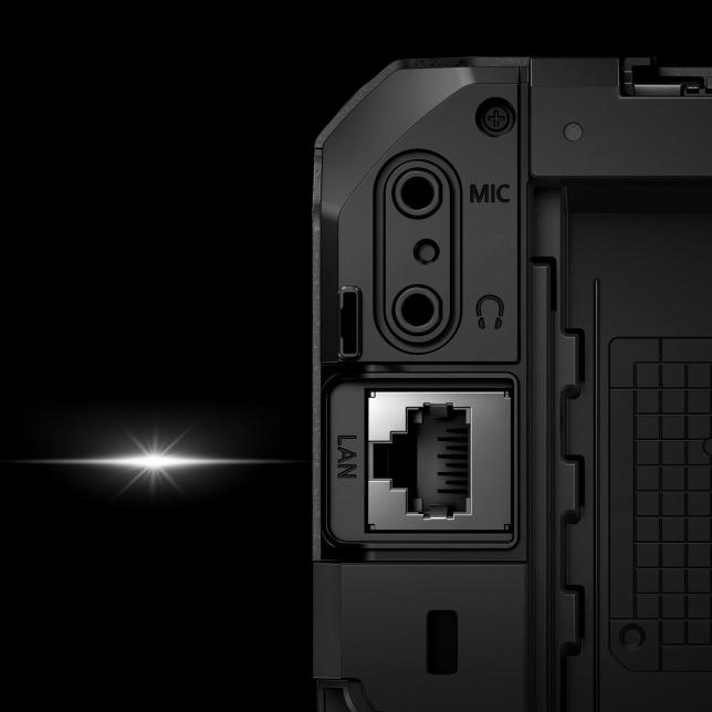 Poprvé uznačky LUMIX: Kamera kompatibilní se standardem Ethernet / PoE+