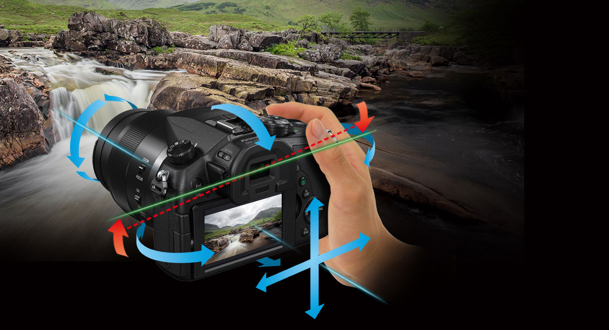 Optická stabilizace obrazu s korekcí náklonu
