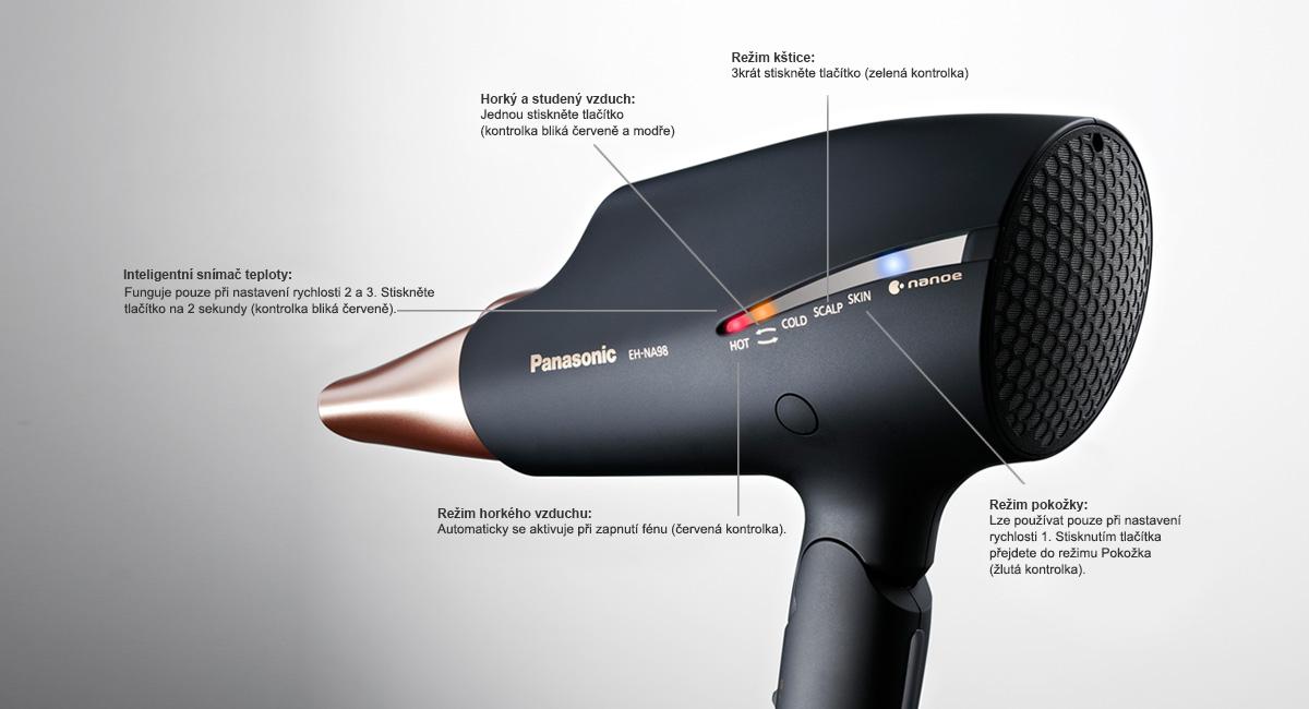 4 režimy pro 360° péči o vaše vlasy, kštici a pokožku