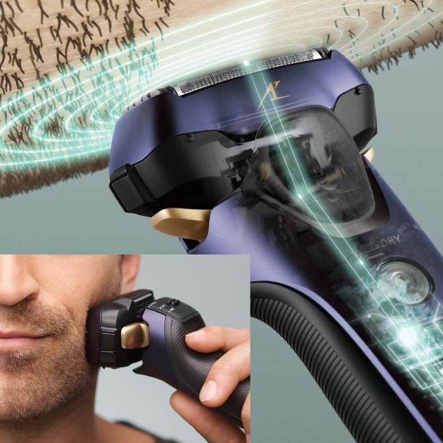 Snímač přizpůsobuje vaše oholení