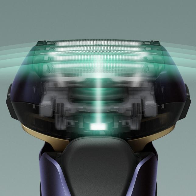 Lineární motor pro hladké oholení