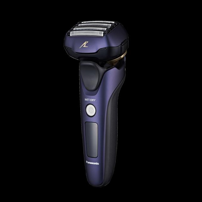 Foto Elektrické holítko ES-LV67 s 5 břity namokro i na sucho se svižným snímačem holení
