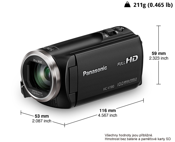 Videokamera HD HC-V180