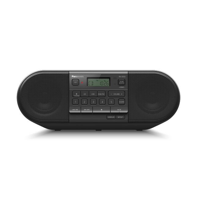 Foto RX-D552 – výkonné přenosné DAB+rádio a přehrávač CD s Bluetooth®