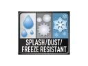 Odolný proti prachu / vodě / mrazu