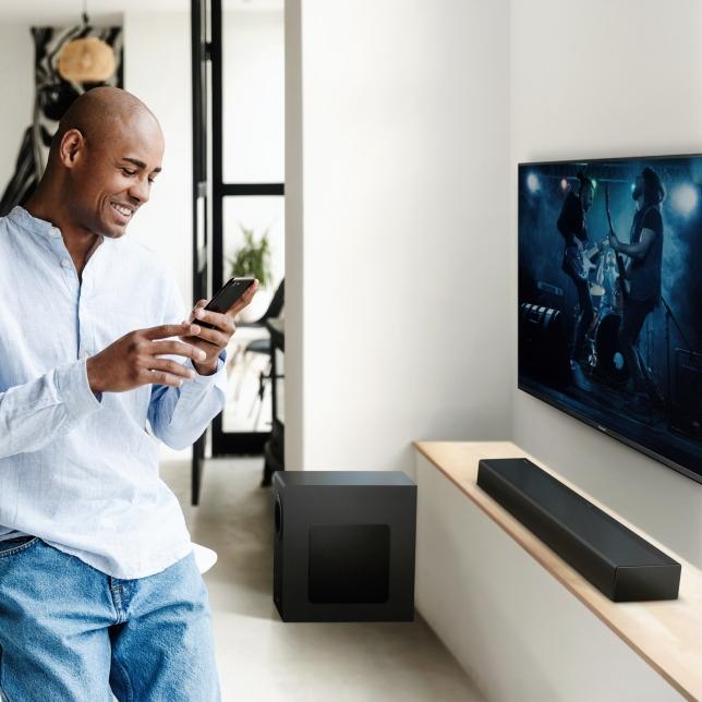 Streamujte svou hudbu bezdrátově pomocí Bluetooth®