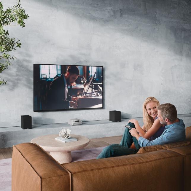 Automatické přehrávání AUX-IN pro dokonalý zvuk televizoru