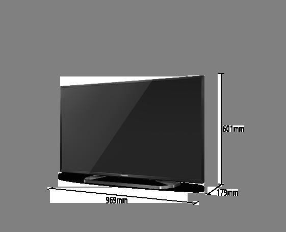 LED-Fernseher VIERA TX-43CXW754