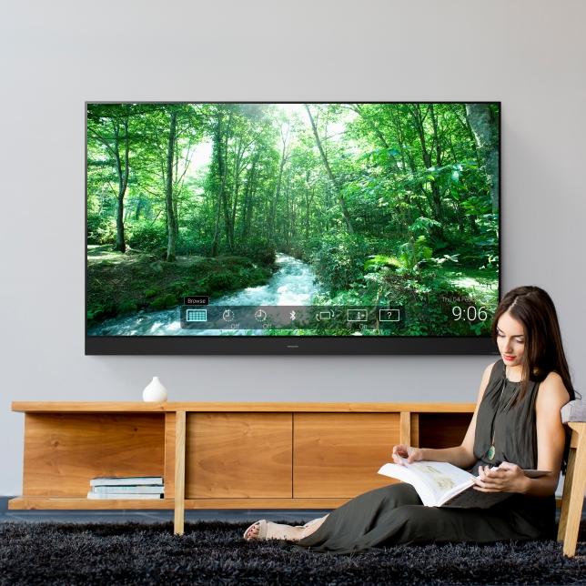 Der Fernseher wird zum Designobjekt