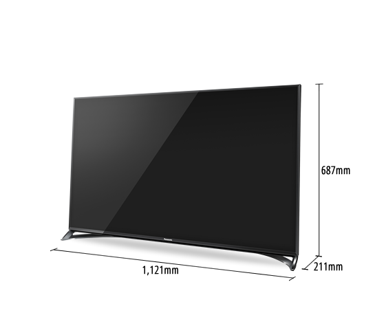 LED-Fernseher VIERA TX-50CXW804