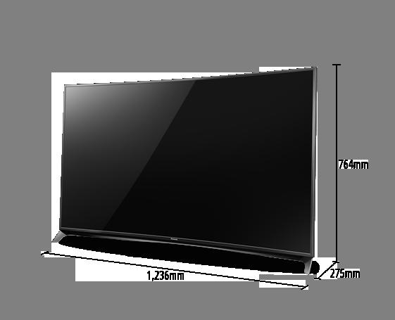 LED-Fernseher TX-55CRW854