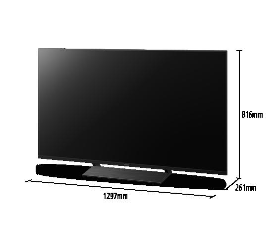 4K UHD TV TX-58GXW804 in 58 Zoll