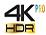 4K PRO HDR
