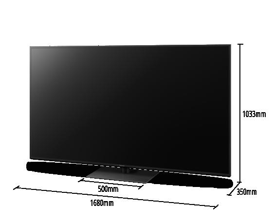 4K Ultra HD TV TX-75HXW944 in 75 Zoll