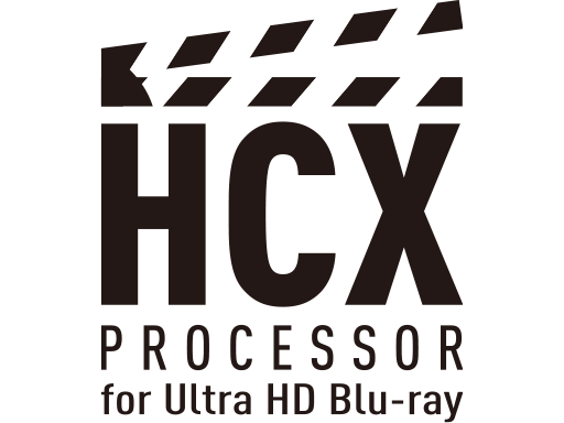 HCX-processor til Ultra HD Blue-ray
