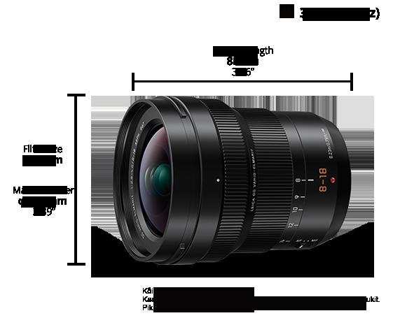 f581cc27ee5 H-E08018 Lumix G objektiivid - Panasonic Eesti