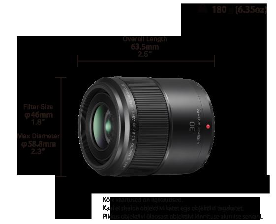 b4f7ba56c22 H-HS030 Lumix G objektiivid - Panasonic Eesti
