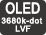 OLED LVF de 3680k puntos