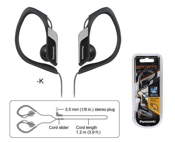 Auriculares tipo clip RP-HS34
