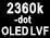 LVF OLED 2360000points