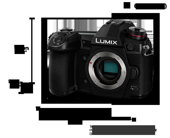 Appareil photo numérique hybride (DSLM) LUMIX DC-G9