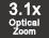 Zoom optique3.1x