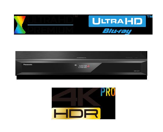 Enregistreur Blu-ray Ultra HD DMR-UBT1