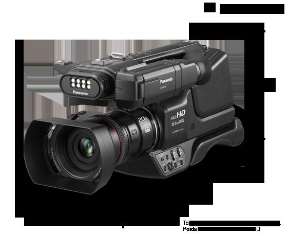Caméscope HD HC-MDH3