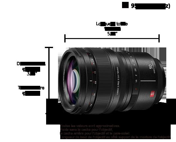 Objectif LUMIX S PRO S-X50
