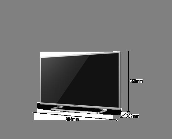 Téléviseur LED VIERA TX-40CS620E
