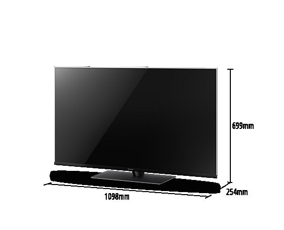 Téléviseur LED 4K HDR TX-49FX740
