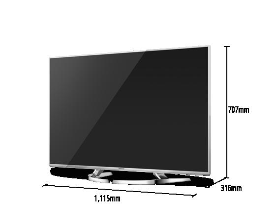 Téléviseur LED VIERA TX-50DX750