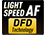 Kontraszt alapú autofókusz DFD technológiával