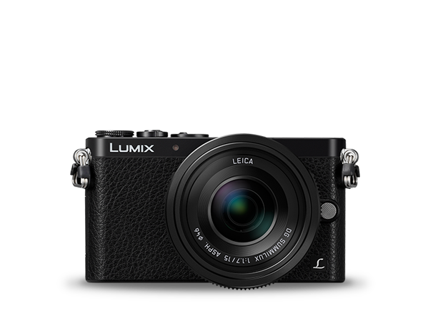 A LUMIX Digital Single Lens Mirrorless Camera DMC-GM1LEG-K fényképen