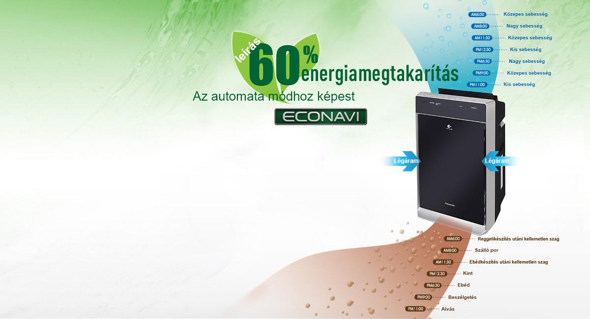 Econavi – intelligens energiamegtakarítás