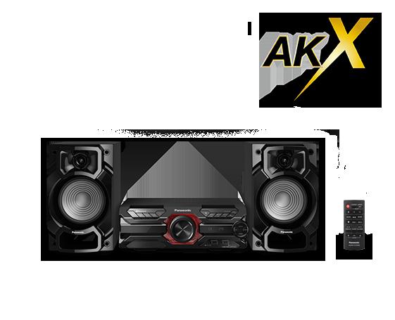 SC-AKX320 minirendszer