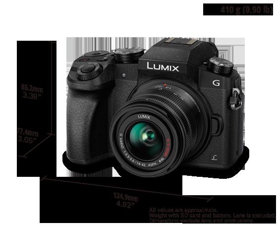 LUMIX Digital Single Lens Mirrorless Camera DMC-G7K