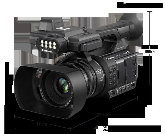 HD Camcorder HC-PV100GW