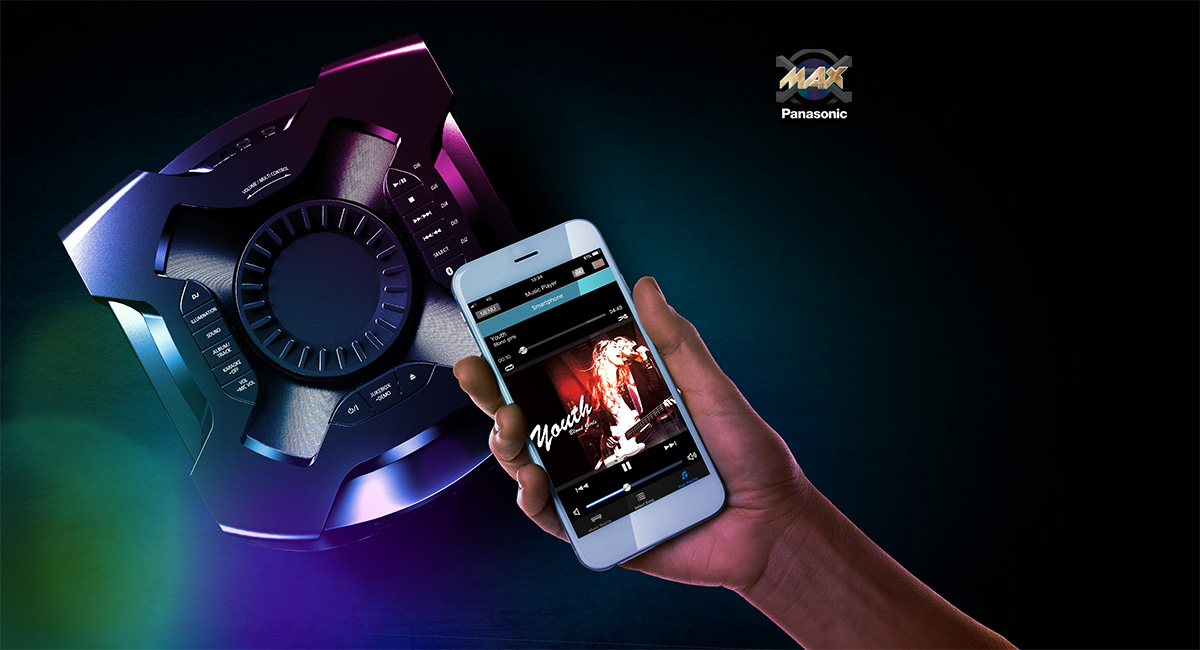 Be the life of the party with MAX Juke App
