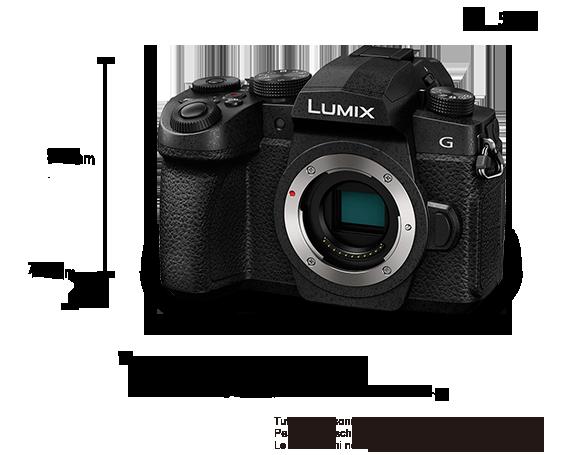 Fotocamera digitale mirrorless con singolo obiettivo Lumix DC-G90