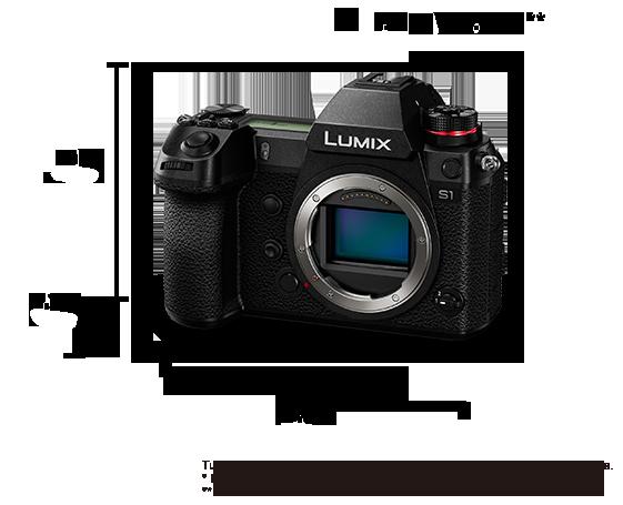 Fotocamera digitale mirrorless con singolo obiettivo Lumix DC-S1
