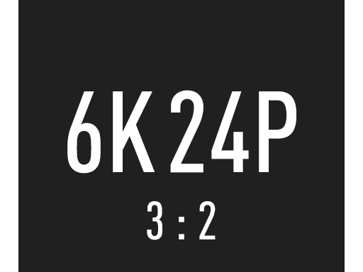 Registrazione Video 4K 24P