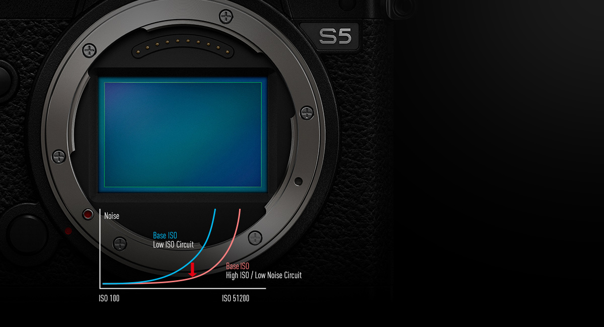 Sensore CMOS Full-Frame 24.2MP con tecnologia ISO Dual Native