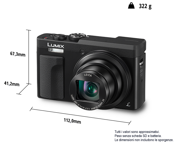 Travel camera LUMIX DC-TZ90