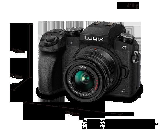 DMC-G7K Fotocamera digitale mirrorless